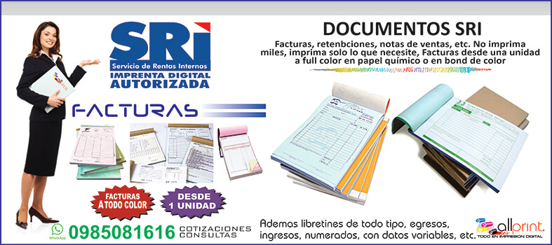 Facturas-Documentos SRI
